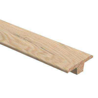 Tinted Tea Oak 3/8 in. Thick x 1-3/4 in. Wide x 94 in. Length Hardwood T-Molding