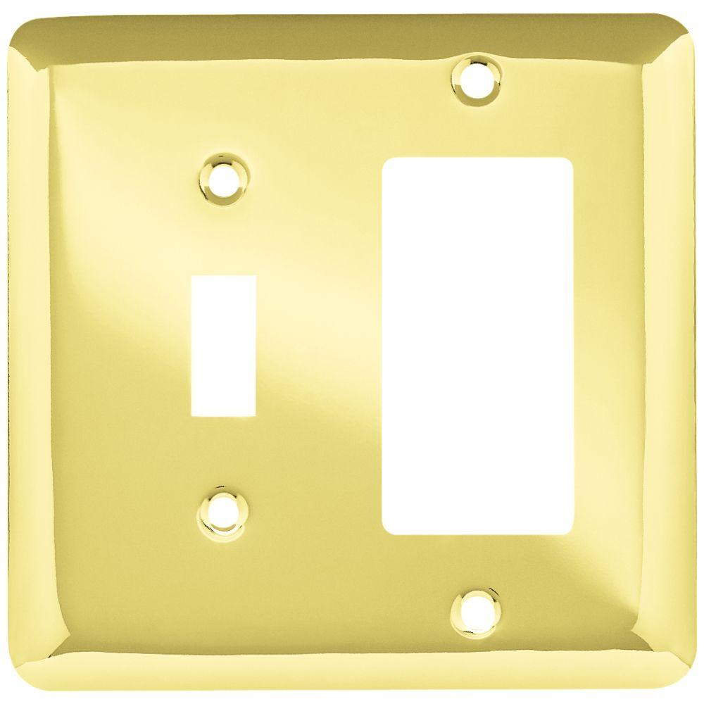 Liberty Stamped Round Decorative Switch and Rocker Switch Plate ...