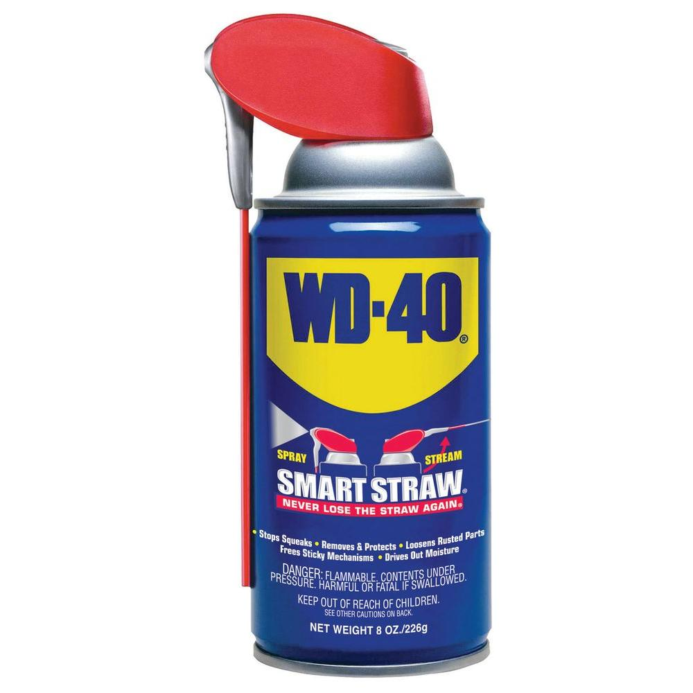 WD-40 8 oz. Smart Straw Lubricant