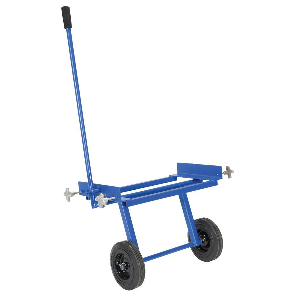 32.75 in. Aluminum Walk Ramp Moving Cart