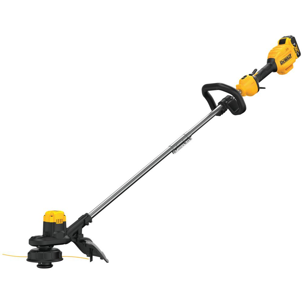 Dewalt 13 In 20v Max Lithium Ion Cordless String Trimmer With 1 4 0ah Battery And Charger Included Dcst925m1 The Home Depot