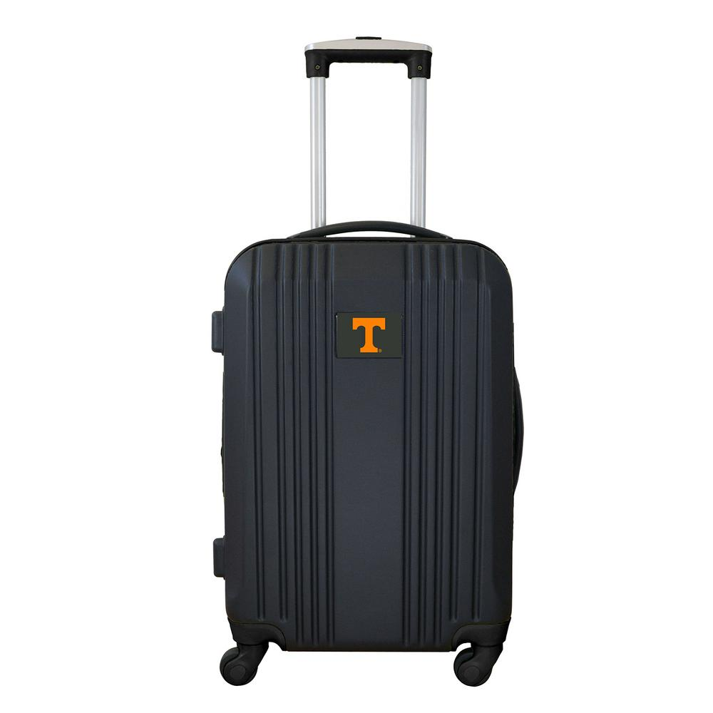 Ncaa Tennessee 21 in. Black Hardcase 2-Tone Luggage Carry...