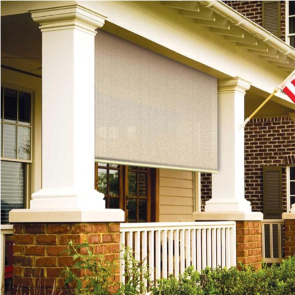 High Quality Coolaroo Sesame Exterior Roller Shade   48 In. W X 72 In. L