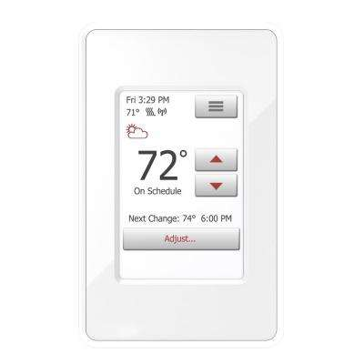 nSpire Touch WiFi and Touch Programmable Thermostat with Floor Sensor