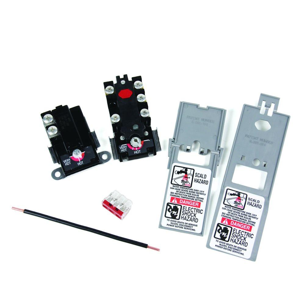 Stupendous Camco Thermostat Kit With Jumper Wire 08130 The Home Depot Wiring Cloud Inamadienstapotheekhoekschewaardnl