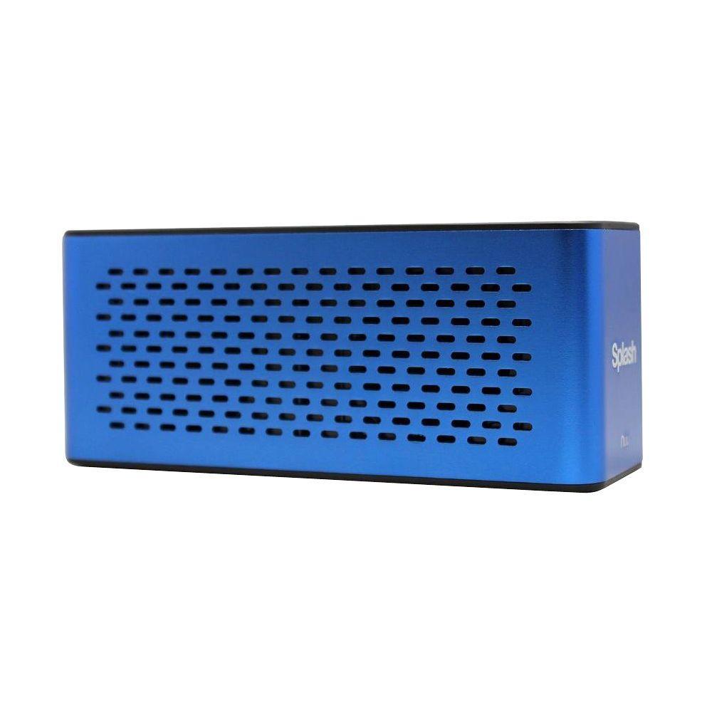 Splash Extreme Portable Bluetooth Speaker - Blue
