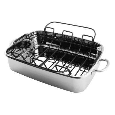 15 in. Stainless Steel Roaster Pan