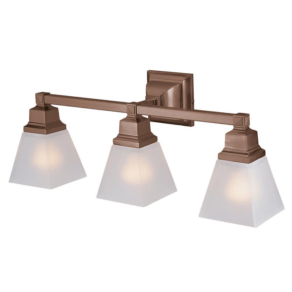 Ciara 3-Light Oil Rubbed Bronze Bath Light