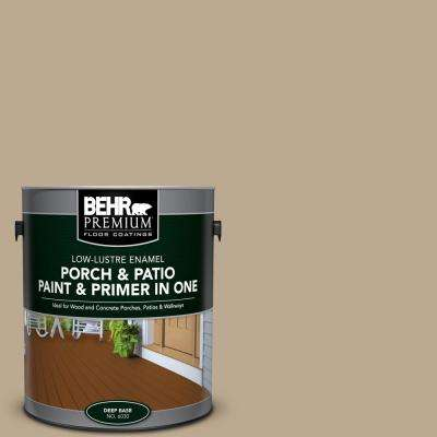 1 gal. #N300-4 Open Canyon Low-Lustre Interior/Exterior Paint and Primer In One Porch and Patio Floor Paint