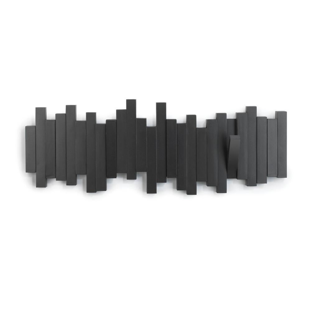 Black Sticks Multi-Hook