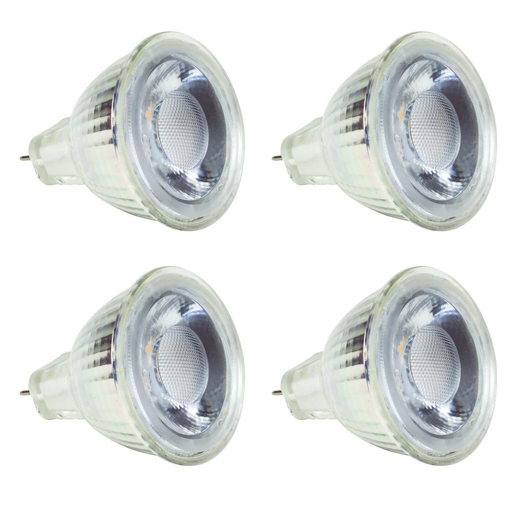 NewhouseLighting Newhouse Lighting 30-Watt Equivalent MR11 LED Light Bulb Warm White (4-Pack)