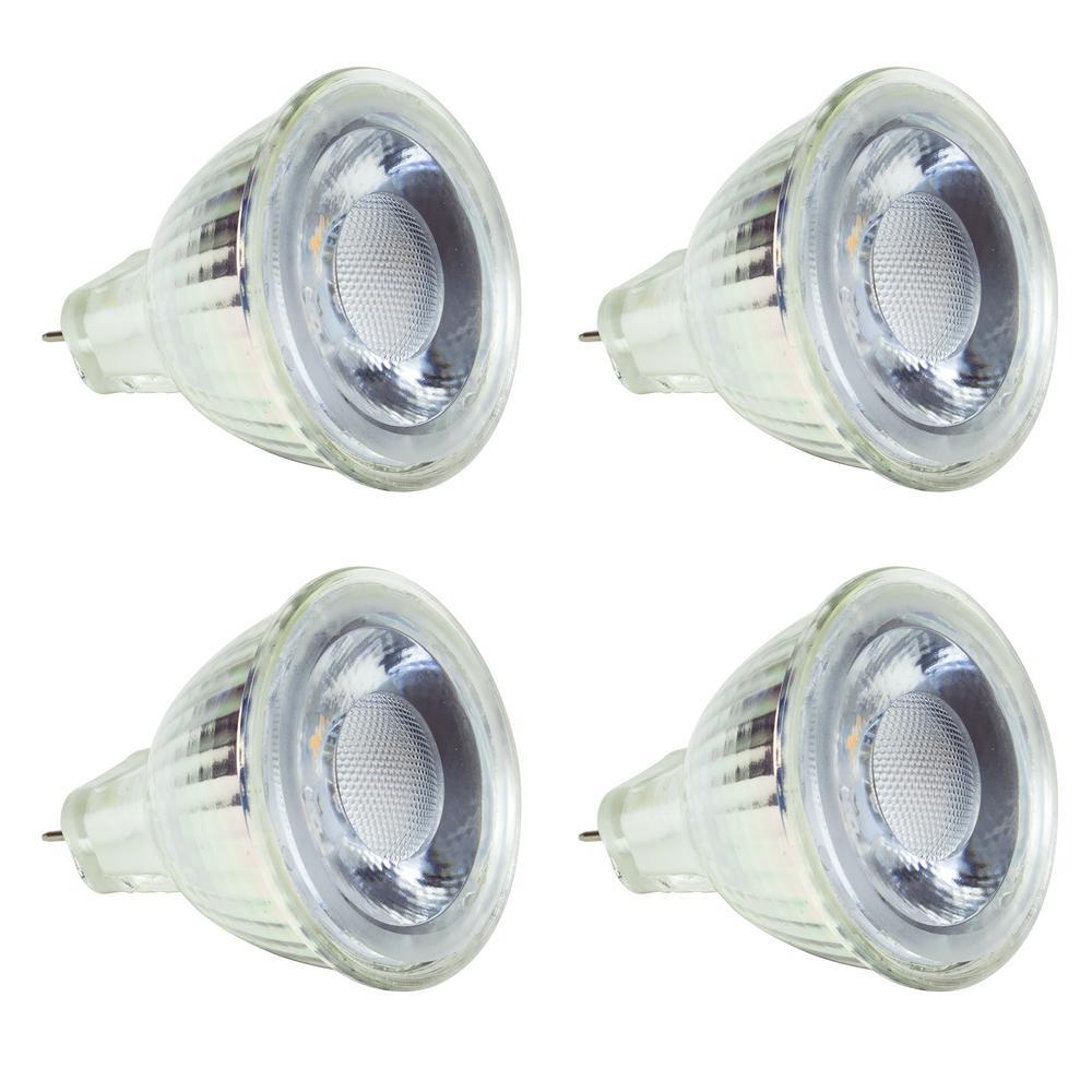 30-Watt Equivalent MR11 LED Light Bulb Warm White (4-Pack)