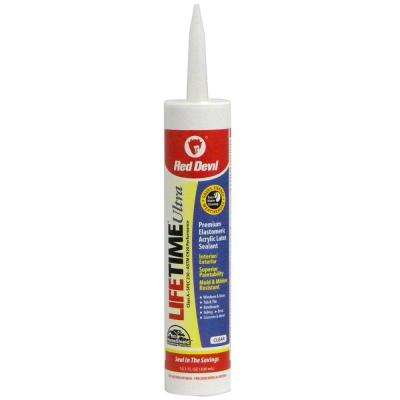 Lifetime Ultra 10.1 oz. Clear Acrylic Latex Caulk