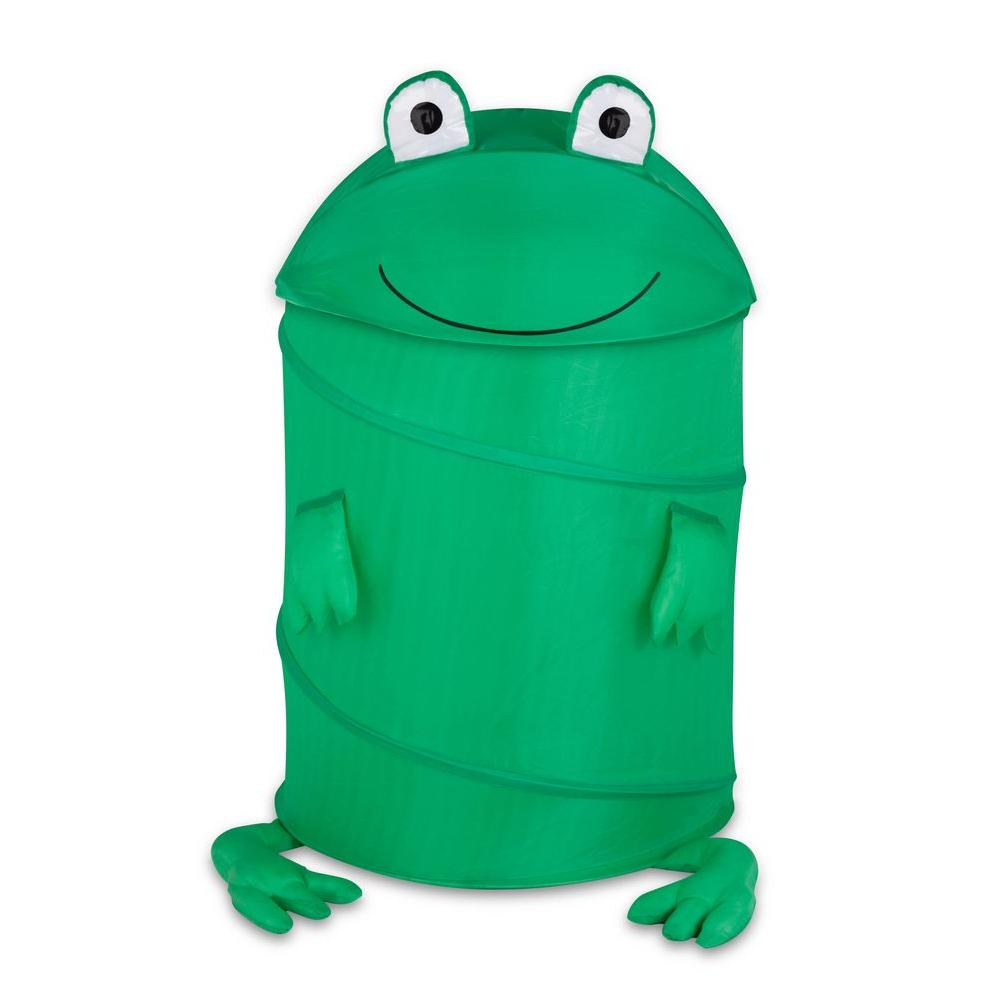 Honey Can Do Large Kids Pop Up Hamper Frog