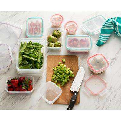 Airtight Plastic 24-Piece Food Storage Set