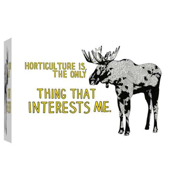 PTM Images 10 in. x 12 in. ''Moose'' Printed Canvas Wall