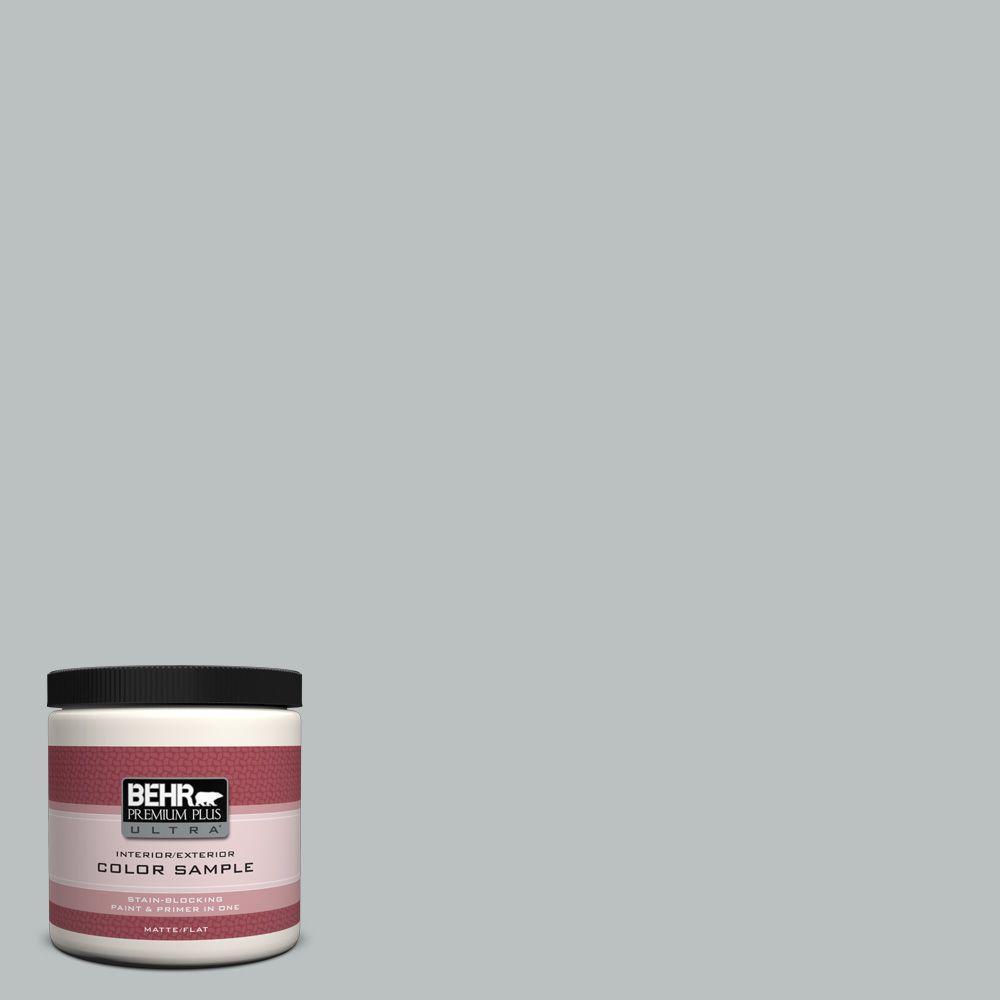 BEHR Premium Plus Ultra 8 oz. #PPF-26 Polished Rock Interior/Exterior Paint Sample