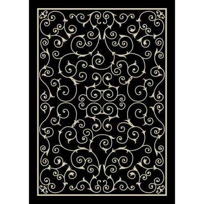 Bright - 10 X 13 - Black - Outdoor Rugs - Rugs - The Home Depot