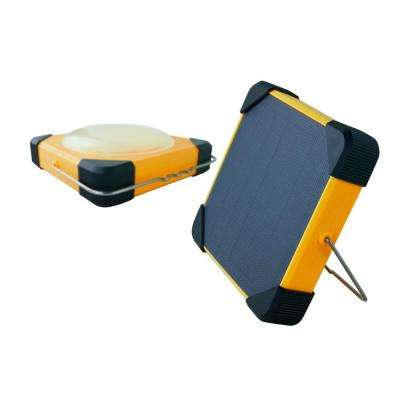 180 Degree Solar Portable LED Lantern with USB Mobile Charger and Power Bank for Wide Variety of Usage