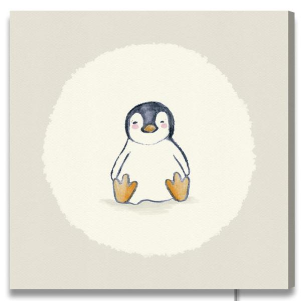 Penguin By Oliver Gal Canvas Wall Art