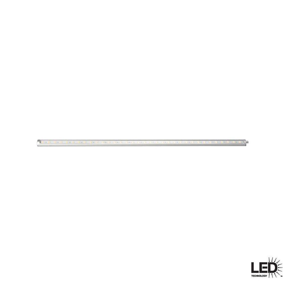 Hampton bay super slim 18 in led silver dimmable under cabinet hampton bay super slim 18 in led silver dimmable under cabinet light kit with aloadofball Gallery