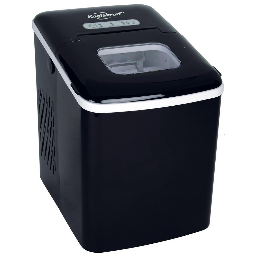 26.5 lb. Freestanding Ice Maker in Black
