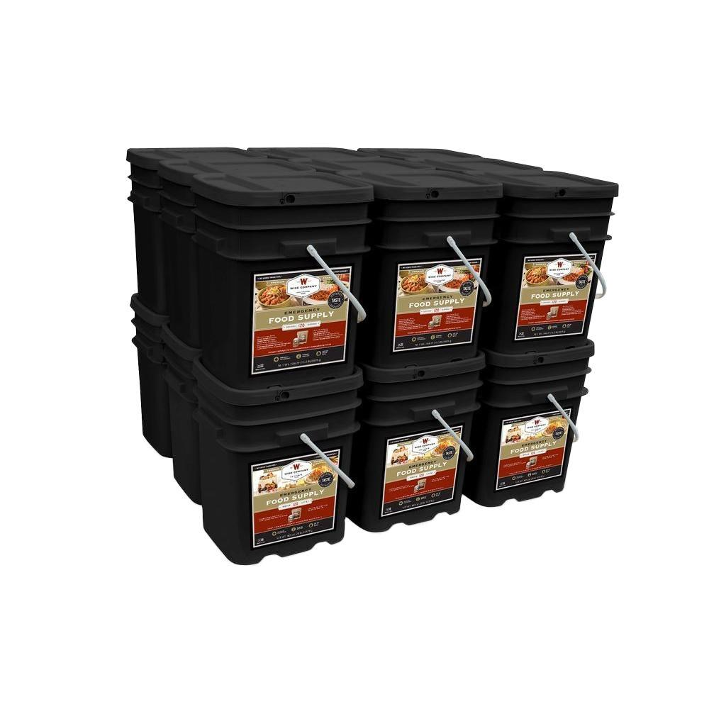 Wise Company 2160 Emergency Serving Package