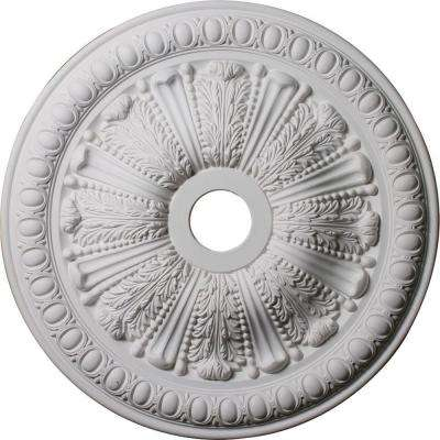 27-7/8 in. x 3-7/8 in. ID x 2-1/2 in. Tomango Egg & Dart Urethane Ceiling Medallion (Fits Canopies up to 6-3/4 in.)