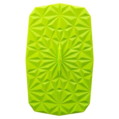 Rectangular Suction 9x6 Silicone Lid in Lime