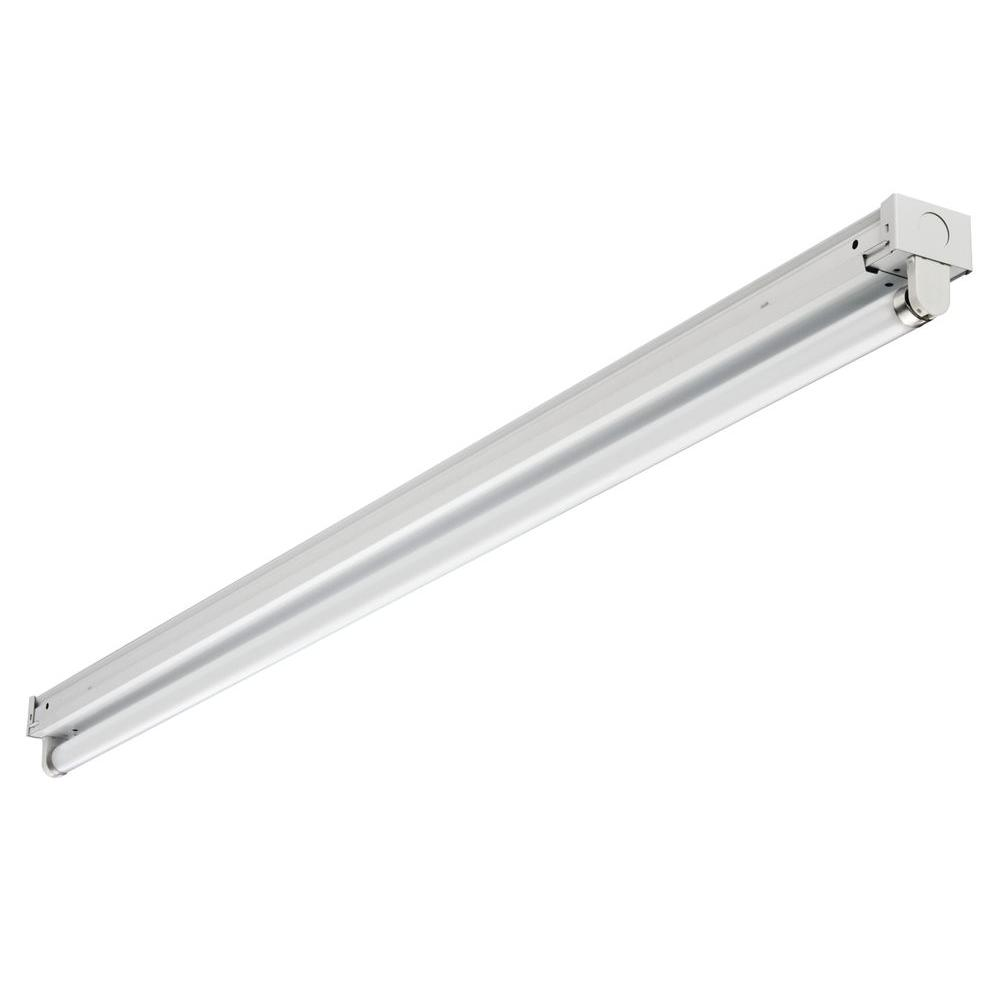 Lithonia Lighting Z132 MV 1-Light 48 in. White T8 Fluorescent Low ...