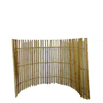 3 ft. H x 6 ft. L Bamboo Ornamental Fence