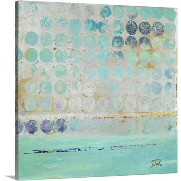 Dots On Silver By Patricia Pinto Canvas Wall Art