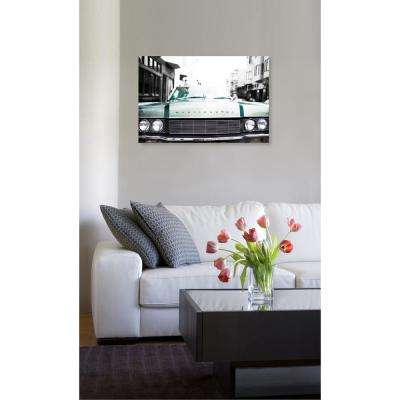 "15 in. x 10 in. 'A Classic"" by ""Oliver Gal"" Printed Framed Canvas Wall Art"