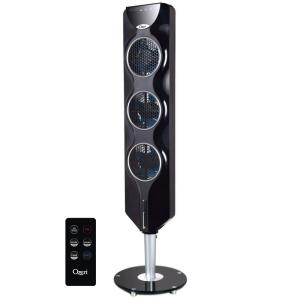 Ozeri Ultra 42 Oscillating Tower Fan with Bluetooth and Noise
