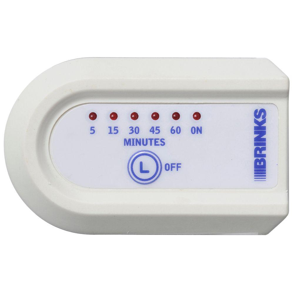 Brinks Home Security Indoor Digital Timer with Safety Turn-Off