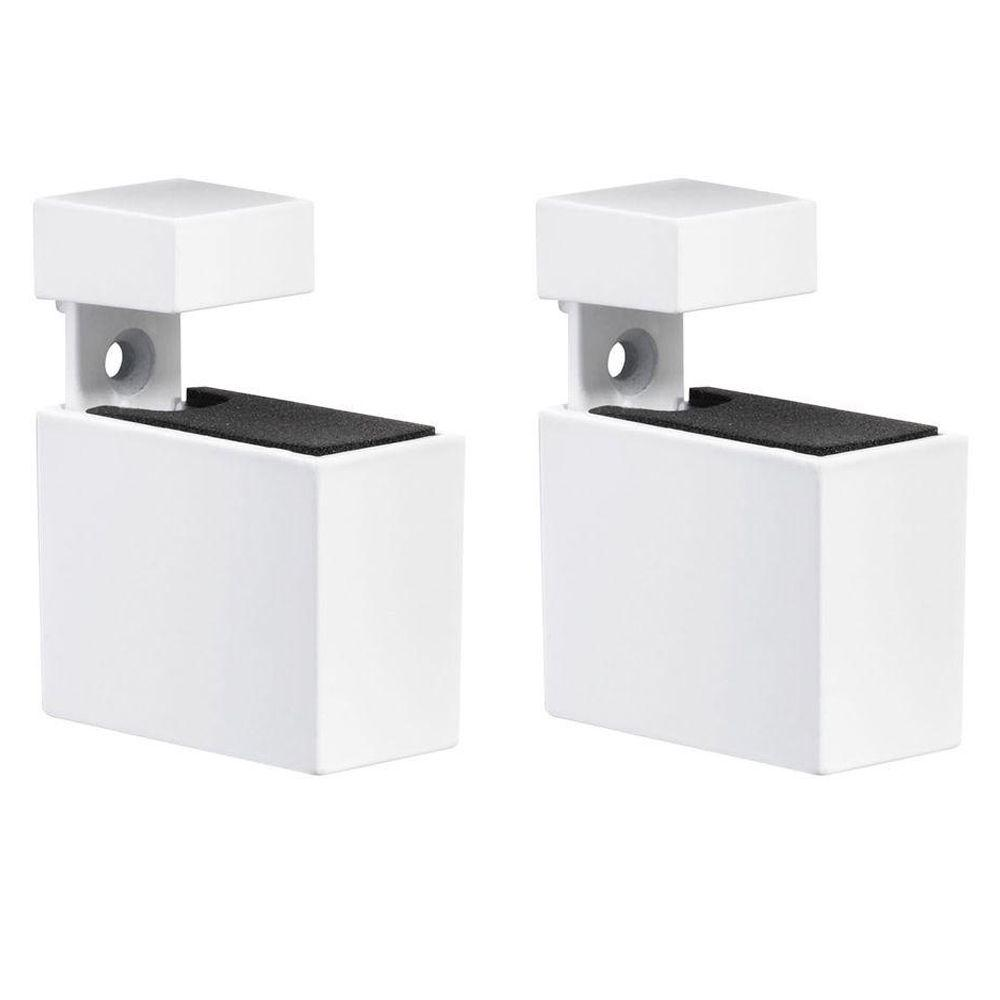 Cuadro 3/16 in. - 3/4 in. Adjustable Shelf Support in White