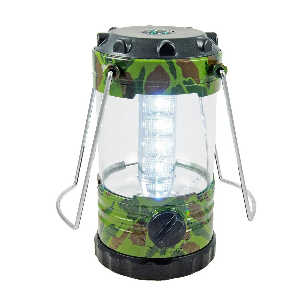 blazing ledz 12 led battery operated camo lantern 2 pack 702279 the home depot. Black Bedroom Furniture Sets. Home Design Ideas