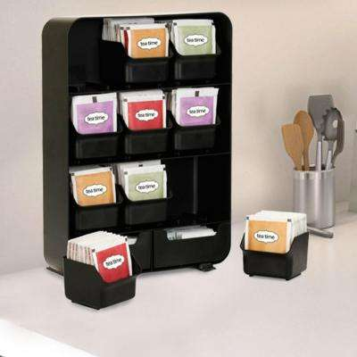 Baggy Tea Bag and Accessory Rack in Black