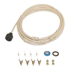 SPT 1/4 inch Outdoor Cooling/Misting Kit with 4 Nozzles by SPT