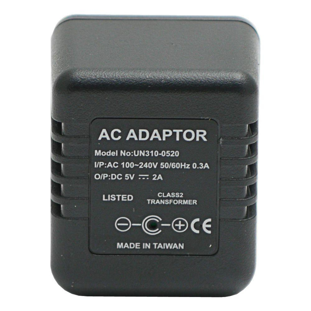 HCPower Lawmate Brand AC Adapter with Hidden Spy DVR Camera and Time/Date Stamp