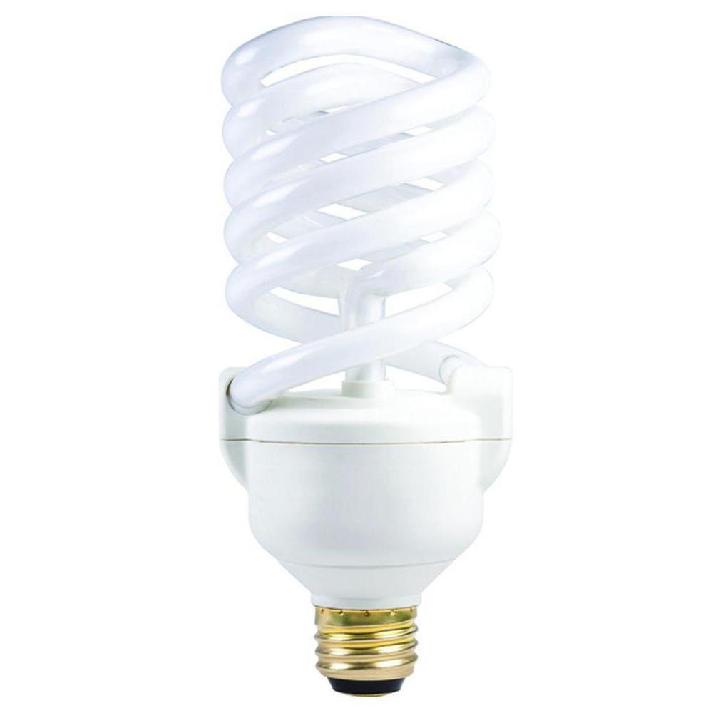 Philips 11 23 34 Watt 50 100 150w Soft White 2700k 3 Way Cfl Light Bulb 211938 The Home Depot