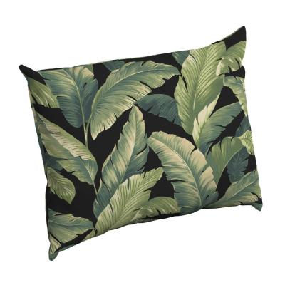 Onyx Cebu Rectangle Outdoor Throw Pillow