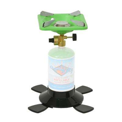 Single Burner Outdoor Propane Stove with Base