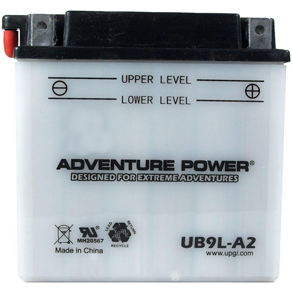 UPG Conventional Wet Pack 12-Volt 9 Ah Capacity D Terminal Battery