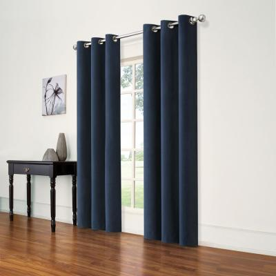 Andora Indigo Blackout Window Panel - 42 in. W x 84 in. L