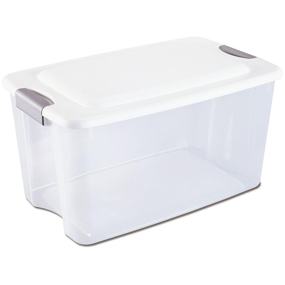 Sterilite 70 Qt. Ultra Storage Box, White