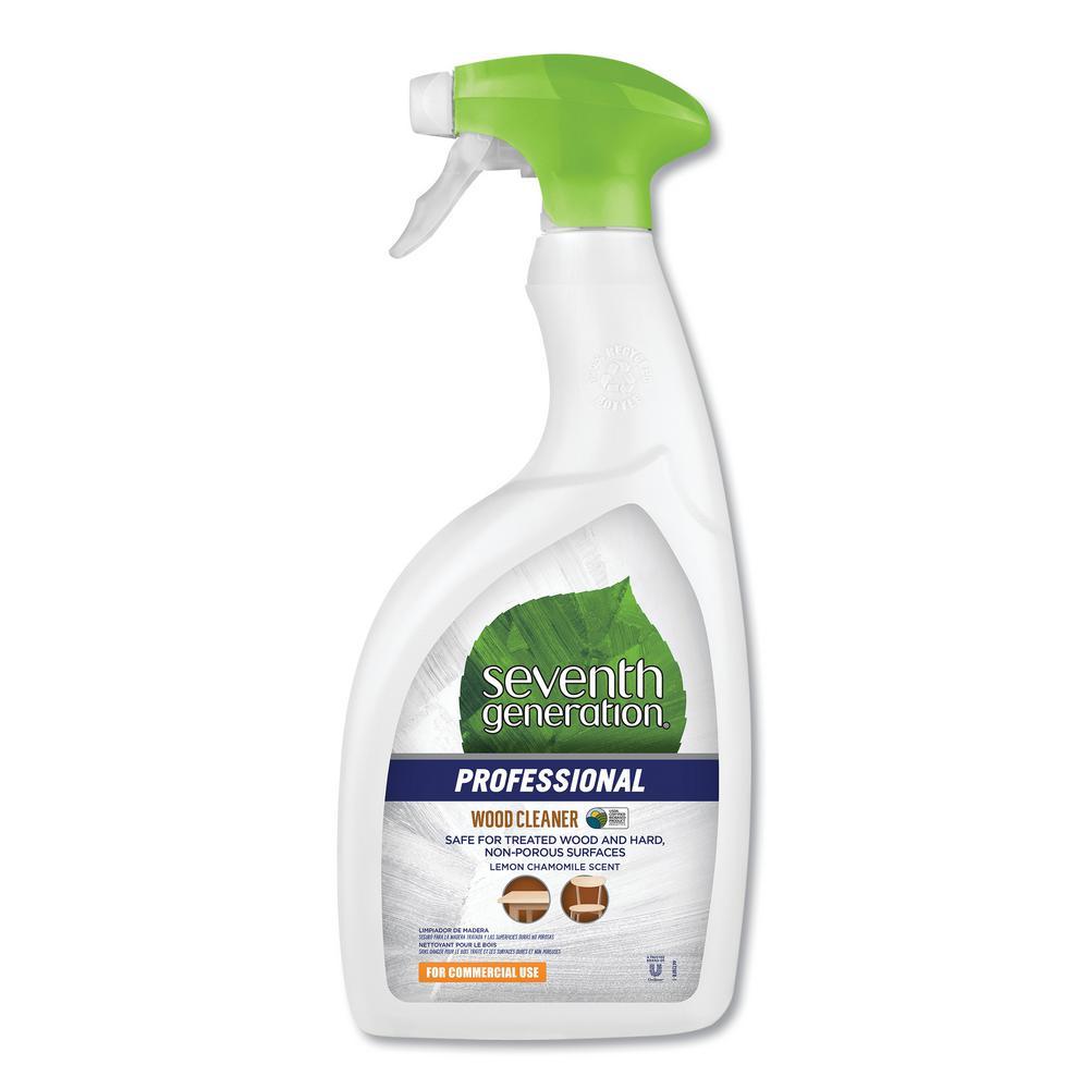 32 oz. Bottle Lemon Chamomile Scent Wood Cleaner (8-Carton)