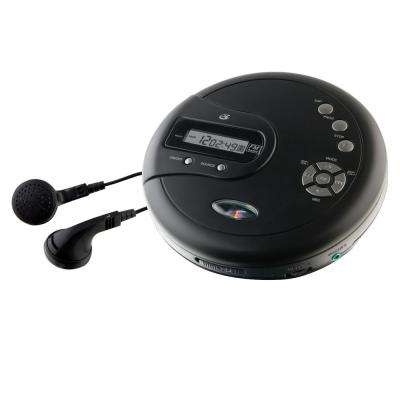 Portable CD Player with FM Radio and 60-Second Anti Skip