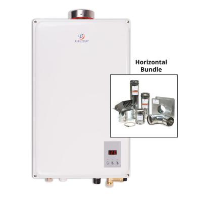 Eccotemp 45HI-NG 6.8 GPM WholeHome 140,000 BTU CSA Approved Natural Gas Indoor Tankless Water Heater Horizontal Bundle