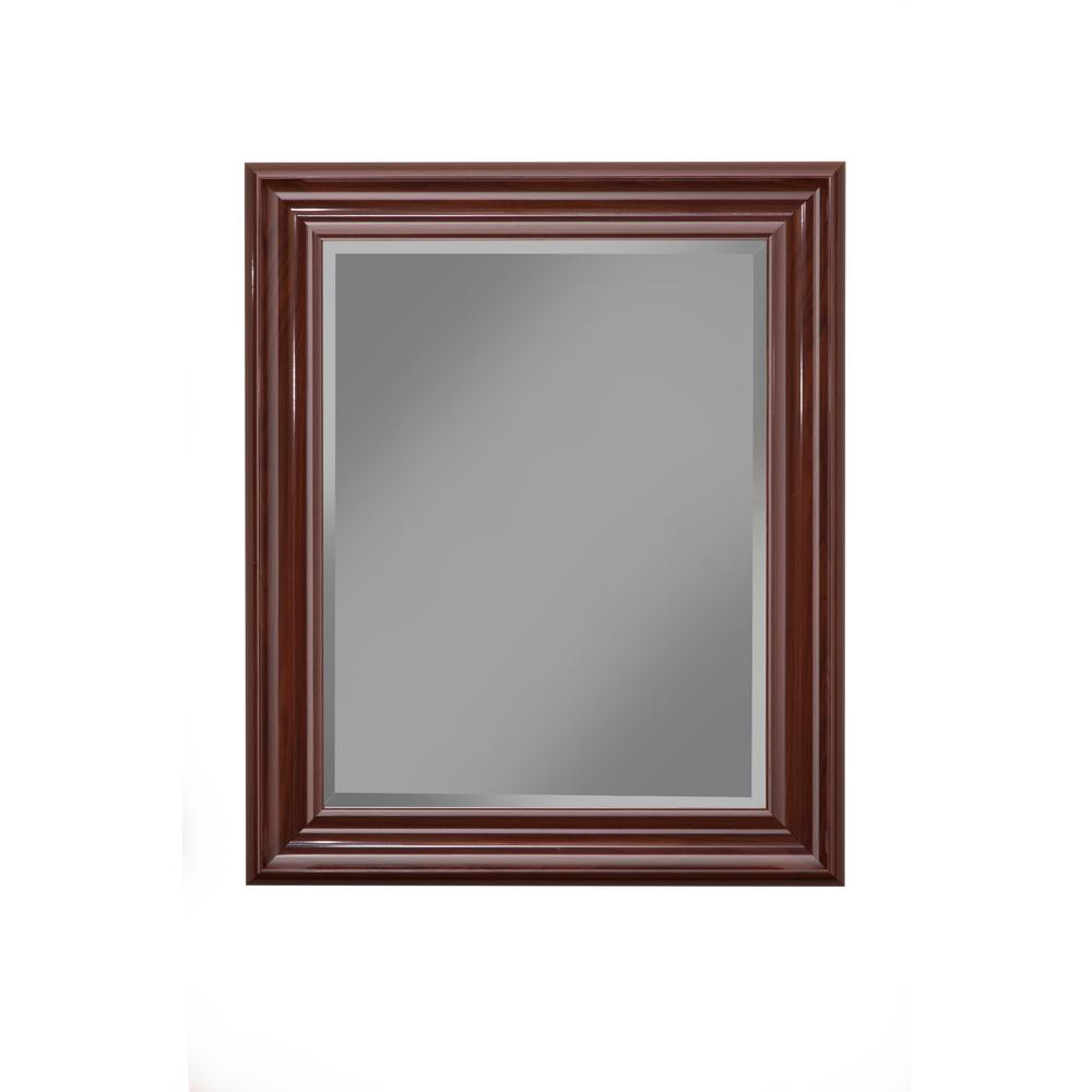 Martin Svesson Cherry Wall Mirror 14417 The Home Depot